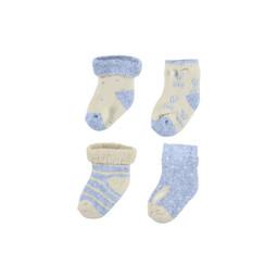 Mayoral Mayoral - Set of 4 Pairs of Socks, Sky Blue