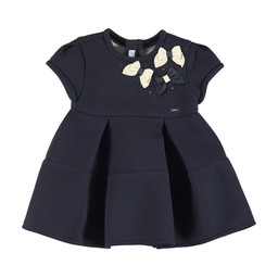 Mayoral Mayoral - Bows Navy Dress