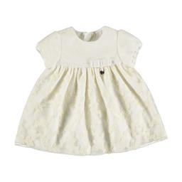 Mayoral Mayoral - Lace Bow Dress, Ecru