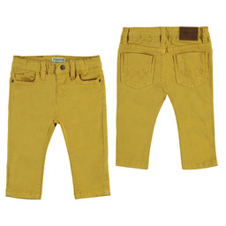 Mayoral Mayoral - Basic Slim Fit Pants, Yellow