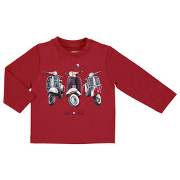 """Mayoral Mayoral - """"Just Ride"""" Sweater, Red"""