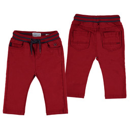 Mayoral Mayoral - Devret Twill Pants, Red