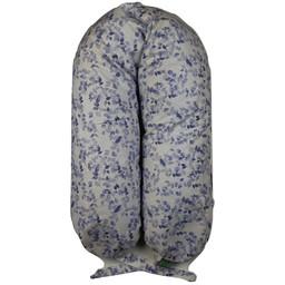 Coussins Etc. Coussins Etc - Big Microbead Cushion, Purple Leafs