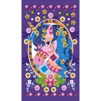 Janod Janod - Creative Mosaics Set, Unicorns