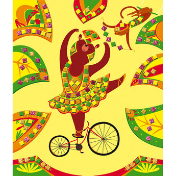 Janod Janod - Creative Mosaics Set, Circus
