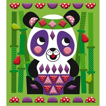 Janod Janod - Creative Stickers Set, Animals