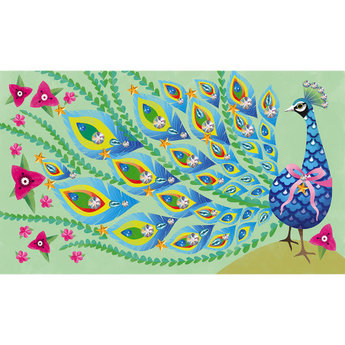 Janod Janod - Creative Stickers Set, Strass Beautiful Bird
