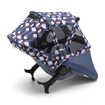 Bugaboo Bugaboo Donkey - Breezy Sun Canopy for Stroller, Waves