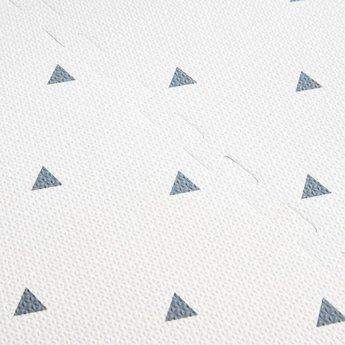 Coco Village Coco Village - Tapis de Jeu, Triangles Gris