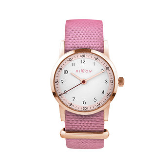 Millow Millow - Blossom Watch, Pink Malabar Rose Gold Buckle
