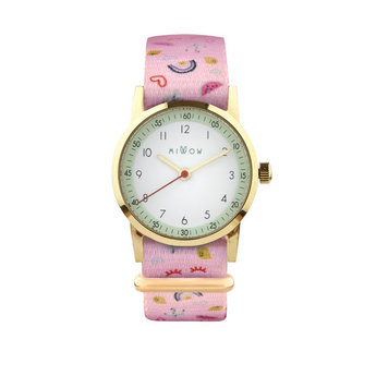 Millow Millow - Opal Watch, California Love Gold Buckle