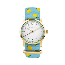 Millow Millow - Montre Opale, Lemon Way Boucle Or