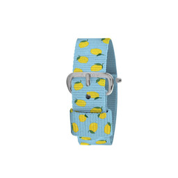Millow Millow - Watch Strap, Lemon Way Silver Buckle