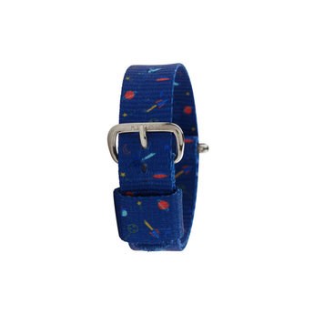 Millow Millow - Watch Strap, Space Me Silver Buckle
