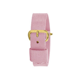 Millow Millow - Watch Strap, Pink Malabar Gold Buckle