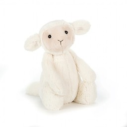 Jellycat Agneau Bashful de Jellycat/Jellycat Bashful Lamb, Moyen/Medium 12 pouces/12 inches