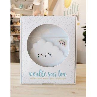 Veille Sur Toi Veille sur Toi - Glass Nightlight Baby Jules