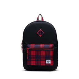 Herschel Herschel - Heritage Youth Backpack XL, Black Winter Plaid