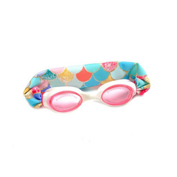 Splash Swim Splash Swim - Swimming Goggles, Pink Mermaid