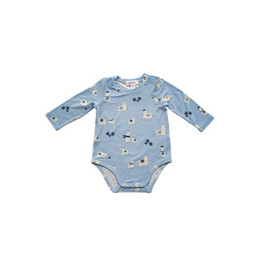Angel Dear Angel Dear - Bodysuit, Llama Blue