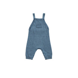 Angel Dear Angel Dear - Knit Overall, Blue Heather