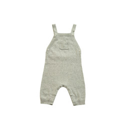 Angel Dear Angel Dear - Knit Overall, Light Grey Heather