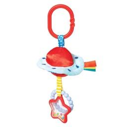 Manhattan Toy Manhattan Toy - Jouet d'Éveil en Peluche, Soucoupe Volante