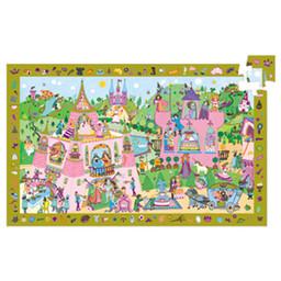Djeco Djeco - Observation Puzzle, Princesses