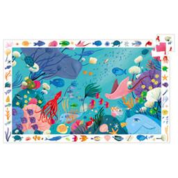 Djeco Djeco - Observation Puzzle, Aquatic