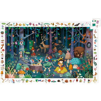 Djeco Djeco - Observation Puzzle, Enchanted Forest