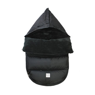 7 A.M 7A.M. - LambPOD Cover, Black Plush, 0-18 months