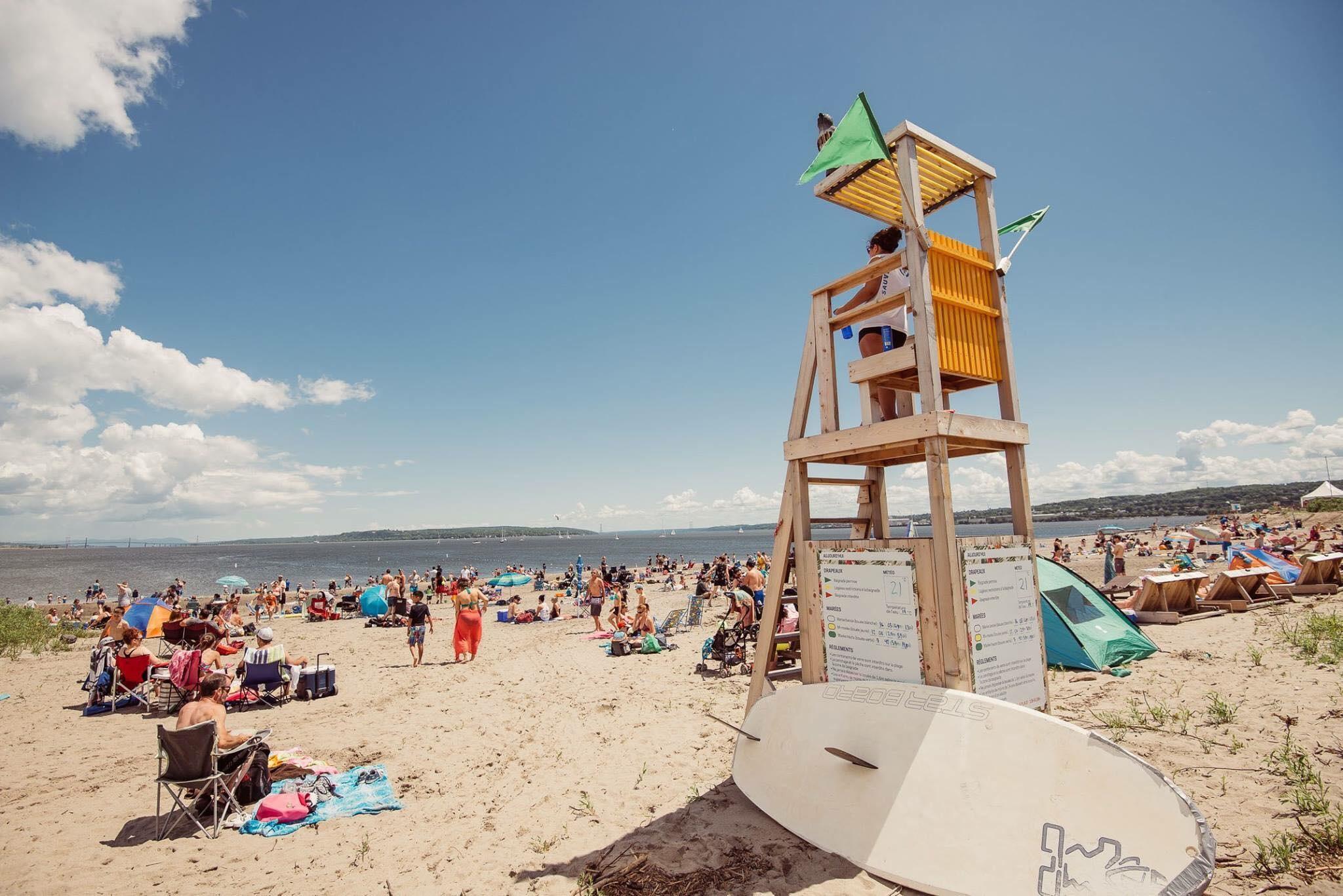 Les meilleurs plans d'eau pour profiter de l'été à Québec
