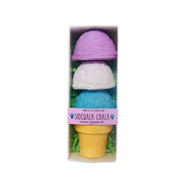 Tweemade Tweemade - Sidewalk Chalk Ice Cream, Purple Blue