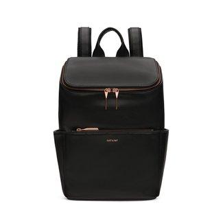 Matt&Nat Matt & Nat - Brave Backpack, Black and Pink Gold