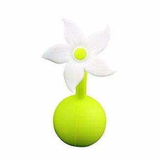 Haakaa Haakaa - Bouchon pour Tire-Lait Manuel, Fleur Blanche