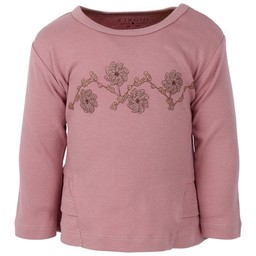 Fixoni Fixoni - Chandail Rose Fleurs