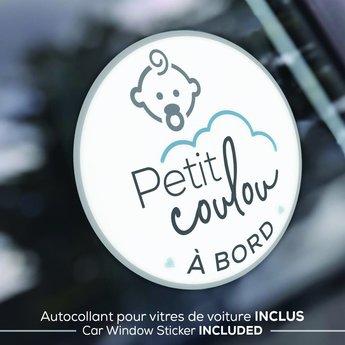 Petit Coulou Petit Coulou - Housse d'Hiver pour Siège d'Auto, Gris Clair