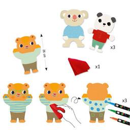 Djeco Djeco - Coloriage, Les Minis