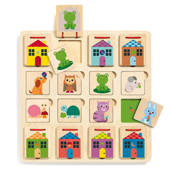 Djeco Djeco - Cabanimo Wooden Puzzle