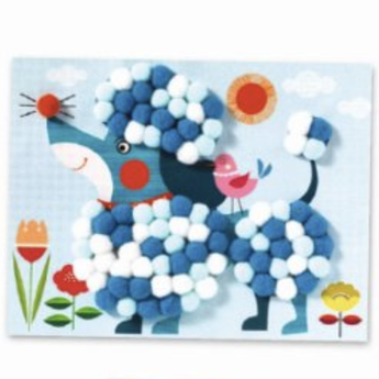 Djeco Djeco - Collage, Dogs to Pet