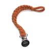 Petit Tot Petit Tot - Jersey Braided Pacifier Clip, Burnt Orange