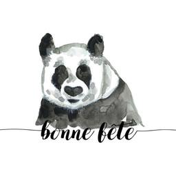 Stéphanie Renière - Carte de Souhaits, Paul le Panda