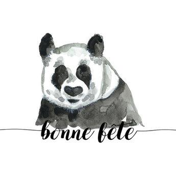 Stéphanie Renière - Greeting Card, Paul the Panda