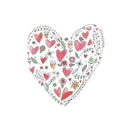 Stéphanie Renière - Greeting Card, Valentine