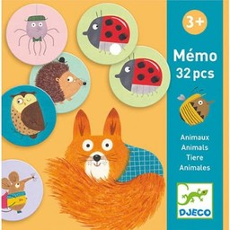 Djeco Djeco - Animal Memo Game