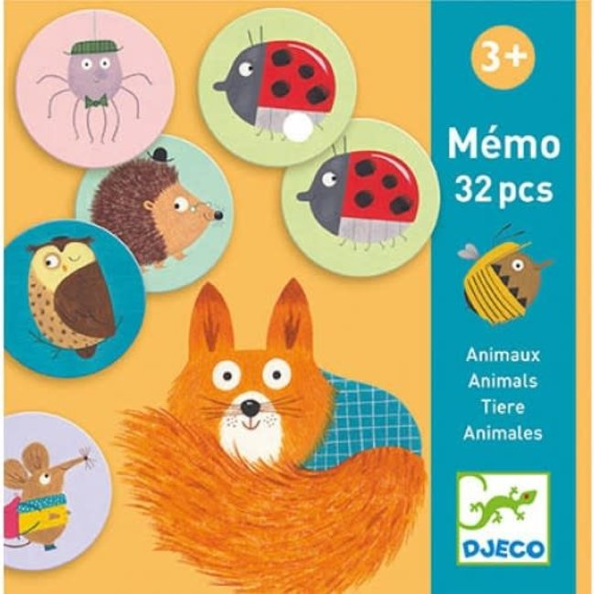 Djeco Djeco - Animal Memo Game