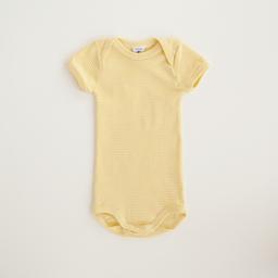Petit Bateau Petit Bateau - Romper, Yellow Stripes