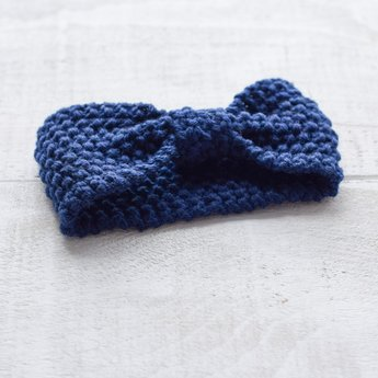 Mini Bretzel Mini Bretzel - Warm Headband, Blue