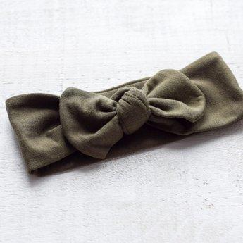 Mini Bretzel Mini Bretzel - Bamboo Headband, Khaki
