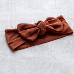 Mini Bretzel Mini Bretzel - Bamboo Headband, Rust